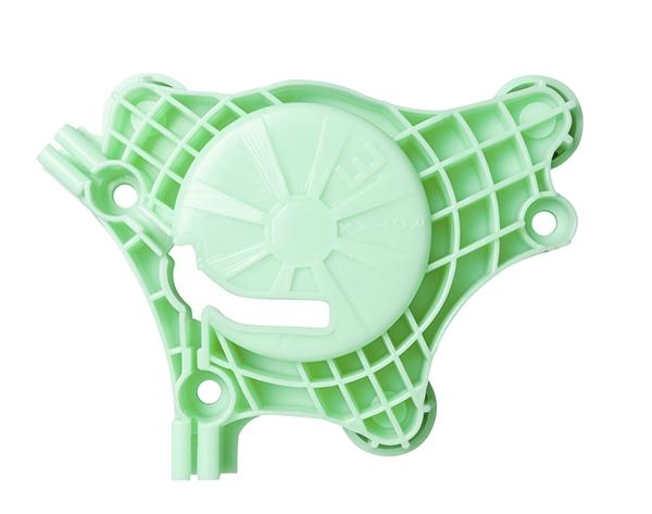 Suporte da Roldana Fox 4 Portas Traseira Lado Esquerdo - Todos (verde) para Máquina de Vidro Elétrico