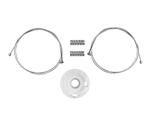 Kit Focus Portas Traseiras para Maquina de vidro elétrico