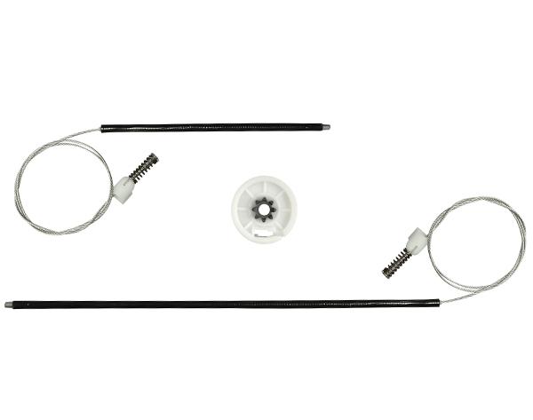 Kit  Fox Portas Traseiras -Todos para Máquina do Vidro Elétrico