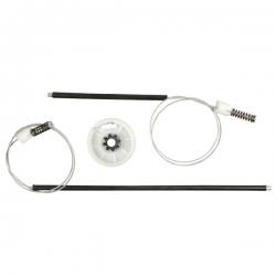 Kit Fox, Crossfox e Spacefox Portas Dianteiras - Todos  para Máquina do Vidro Elétrico
