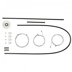Kit Peugeot 207 Passion 4 Portas Dianteiras - Todos  para Máquina do Vidro Elétrico